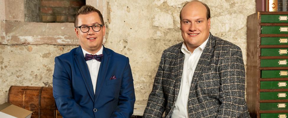 Carsten Tüngler und Daniel Riecke